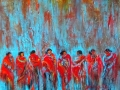 Red Blanket Dancers